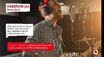 ¡Vuelve el Vodafone Yu Music Talent para encontrar a nuevos talentos musicales!