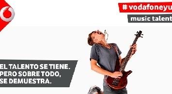 �A�n est�s a tiempo de apuntar a tu banda a la 4� edici�n de Vodafone yu Music Talent!